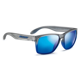 Rudy Project Spinhawk Glasses Graphite Blue Matte/Multilaser Blue